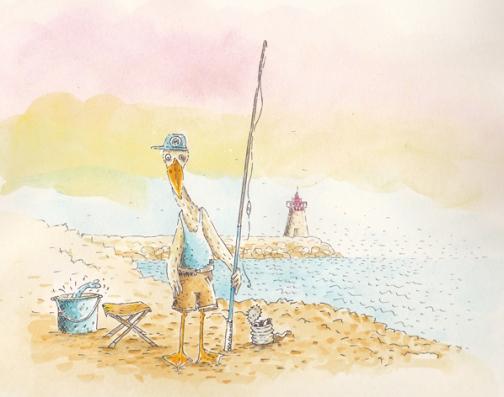 goéland pêcheur
