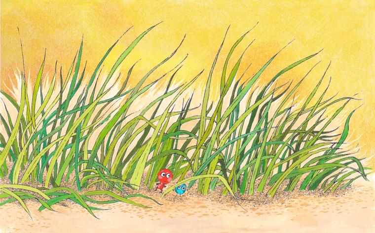 dans la jungle des herbes